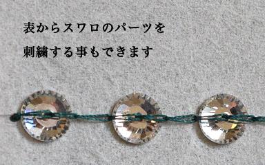クロシェ・ド・リュネビルの70番針の使用例