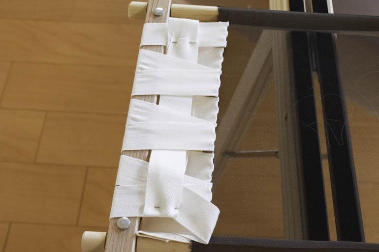 刺繍枠の張り方、布テープ14