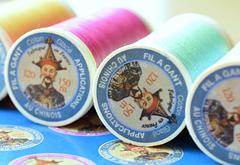 オートクチュール刺繍用糸フィラガン